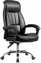 GAXQFEI Middle Back Desk Chair with Arms 360