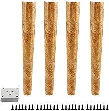 GAXQFEI Niture Legs Wood Sofa Legs Replacement