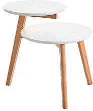 GAXQFEI Nordic Simple Small Coffee Table Double