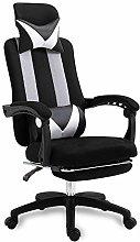GAXQFEI Office Computer Chair Fabric High Back