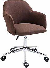 GAXQFEI Office Computer Chair Fabric Swivel Chair,