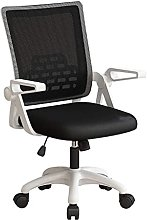 GAXQFEI Office Swivel Desk Chair, with Mid-Back