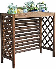 GAXQFEI Outdoor Air Conditioner Cover, Wooden