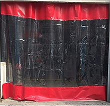 GAXQFEI Outdoor Curtains Panels Stitching