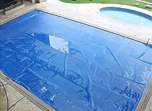GAXQFEI Outdoor Pools Solar Covers with Holes,