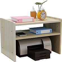 GAXQFEI Printer Stand Desk Monitor Stand Organiser