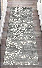 GAXQFEI Runner Rug for Hallway, White Gray |