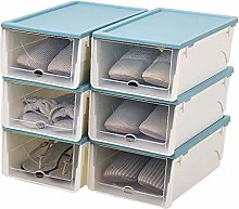 GAXQFEI Shoe Rack Drawer Type Stackable Plastic