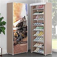 GAXQFEI Shoe Rack Multi Layers Shoe Rack Nonwoven