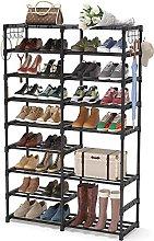 GAXQFEI Shoe Rack Shoe Rack Organizer Closet,32-40
