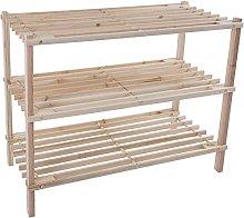 GAXQFEI Shoe Rack Storage Bench –Closet,Entry