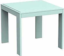 GAXQFEI Side Table,Coffee Tables Modern Square