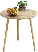 GAXQFEI Small Round Coffee Table Side Table Snack