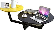 GAXQFEI Small Round Table Personalized Round