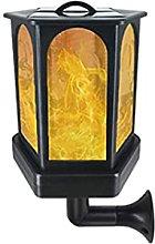 GAXQFEI Solar Flame Light, Waterproof Led Dancing