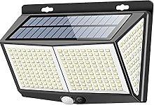 GAXQFEI Solar Garden Lights, Led Solar Security