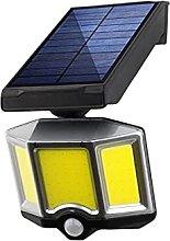 GAXQFEI Solar Lights Outdoor, Solar Motion Sensor