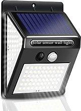 GAXQFEI Solar Outdoor Lights, Waterproof Security
