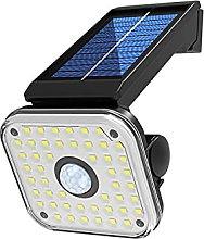 GAXQFEI Solar Security Lights, Solar Light Garden