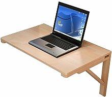 GAXQFEI Wall Mount Laptop Desk, Folding Desks for