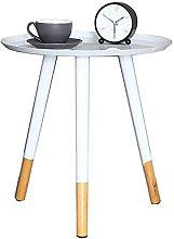 GAXQFEI White Wrought Iron Coffee Table Modern