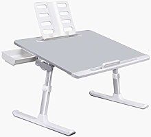GAXQFEI with Reading Stand Laptop Tray Table with