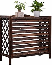 GAXQFEI Wood Air Conditioner Cover Fence, Outdoor