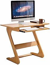 GAXQFEI Wooden Laptop Desk Computer Table with