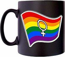 Gay Pride Flag Female Woman Symbol Klassek LGBT