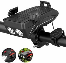 GAYBJ Bike Light Rechargeable Bicycle Lights with