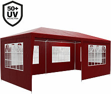 Gazebo 3x6m Marquee Canopy Sun Shade Patio Outdoor