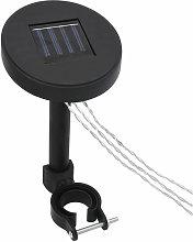 Gazebo LED String Lights with Solar Panel