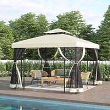Gazebo Marquee Canopy Waterproof Garden Beach