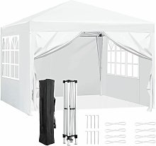Gazebo Marquee Party Tent With Sides Waterproof