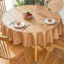 GBFR Plastic tablecloth   Coffee Round flower