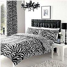 GC GAVENO CAVAILIA Animal Theme Zebra Skin Duvet
