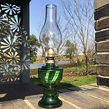 GCMJ Fireplace Replacement Retro Camping Oil Lamp
