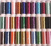 GCS London 30 Machine Embroidery Metallic Thread