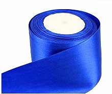 GCS LONDON ROYAL BLUE Satin Ribbon - 50mm Wide - 5