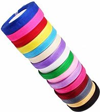 GCS ORGANZA RIBBON 10 MM, 20 Rolls New, 20 Diff.