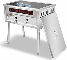 GCZZYMX Deep Fryer Commercial 40L Large Capacity