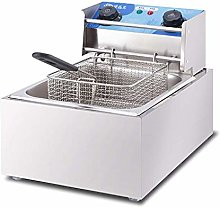 GCZZYMX Deep Fryer, Single/Double Cylinder