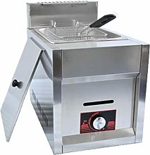 GCZZYMX Fryer Double-Cylinder Gas Deep 6L/12L
