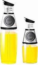 GDD Olive Oil Dispenser Cruet Oil Dispenser 2pcs