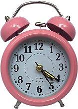 GDEVNSL Digital 3d Double Bell Clock Chime Loud