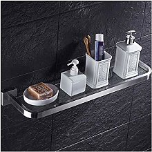 GDFEH Bathroom Glass Shelf Glass Wall Mount Shower