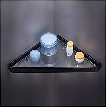 GDFEH Corner Shower Caddy Shelf Bathroom Glass