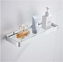 GDFEH Tempered Glass Shelf Bathroom Shelf Bathroom