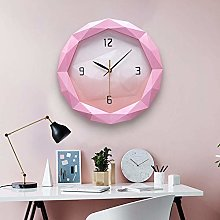 GDICONIC Decorative clock # N/a (Color : Pink)