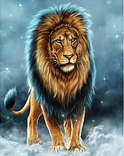 Gdlkss 5D DIY Diamond Painting Kit for Adults Lion